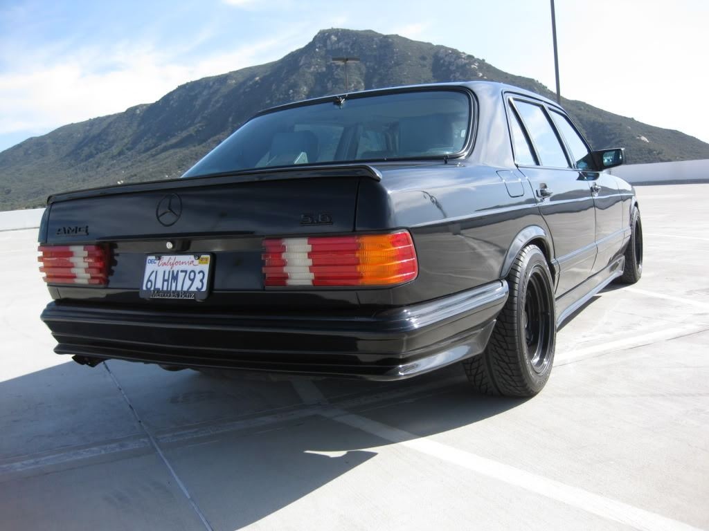 mercedes benz w126 500 sel amg 5 6 only cars and cars. Black Bedroom Furniture Sets. Home Design Ideas