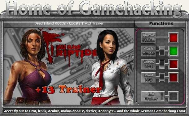 Dead Island: Riptide v1.4.0-Update 1 +13 Trainer [HoG]