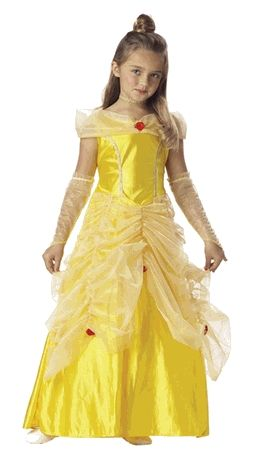 Ladies' Belle costumes that show a bit more skin than the traditional yellow ...
