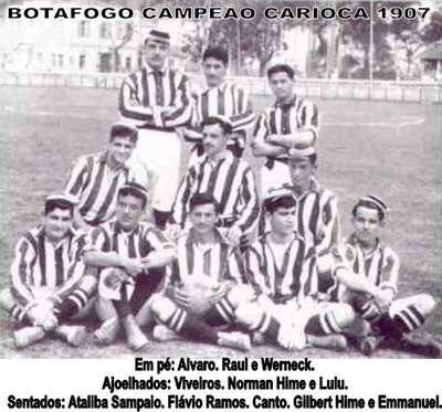 Botafogo campeão carioca de 1907