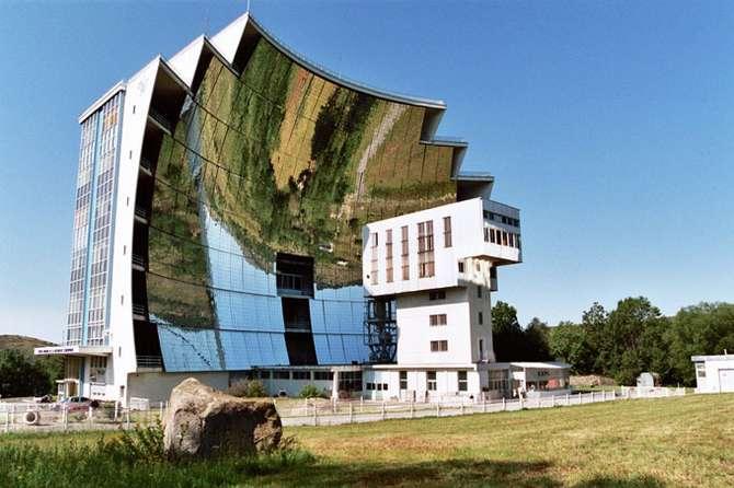 Fornalha Solar (Font-Romeu-Odeillo-Via, França)