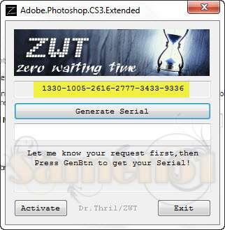 Crack для Photoshop CS5 Extended - Активаторы - Всякие. бусплатно эмулятор