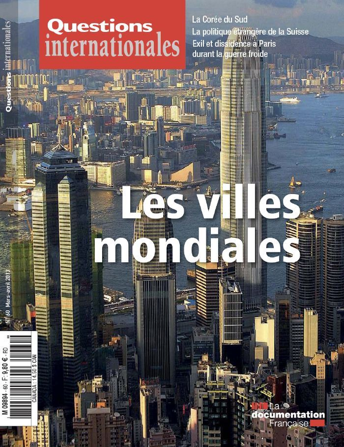 Questions Internationales N°60 Mars Avril 2013