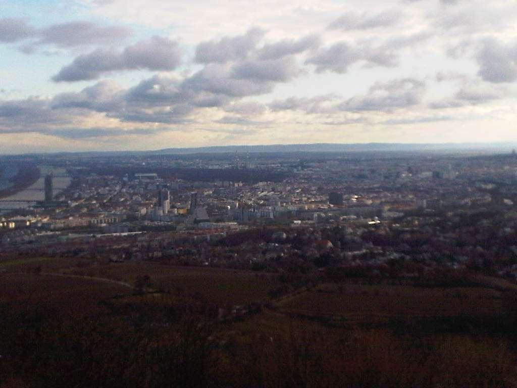 Pogled s Kahlenberga na Beč