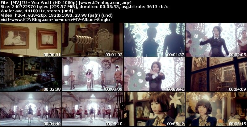 MV IU - You And I HD