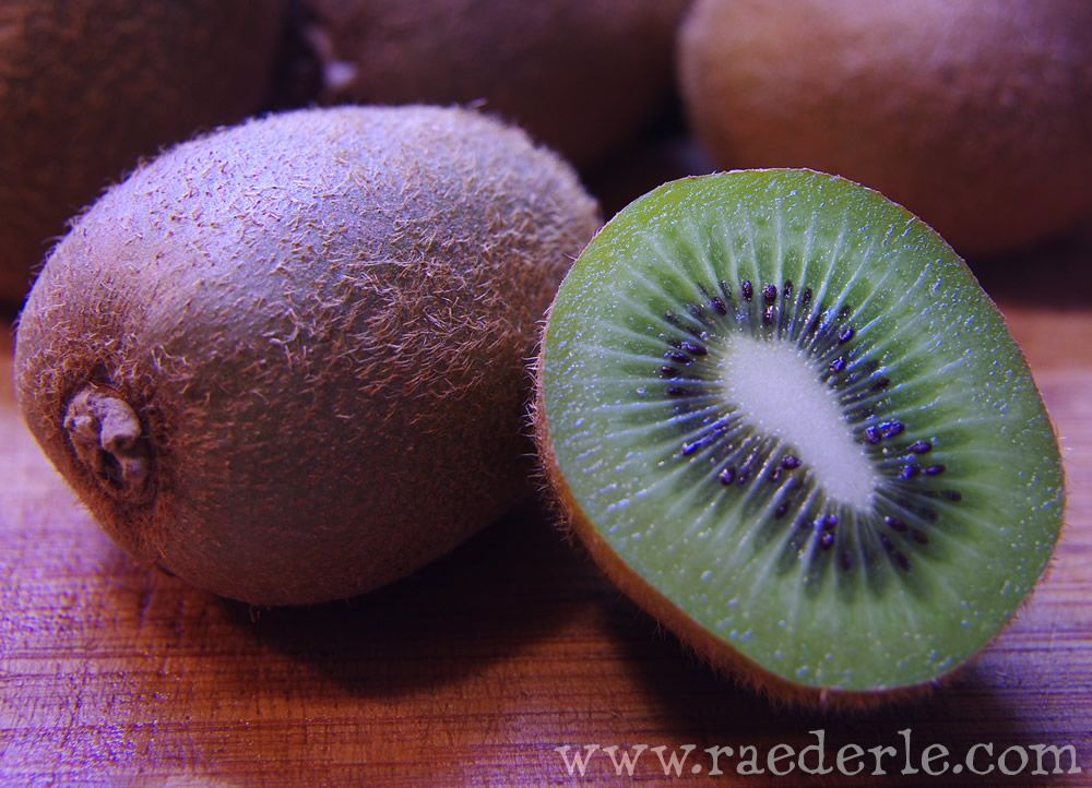 Kiwi Fruit Photographed by Raederle Phoenix 2012