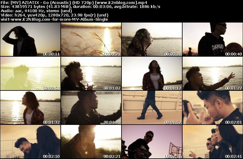 AZIATIX - Go (Acoustic) MV HD